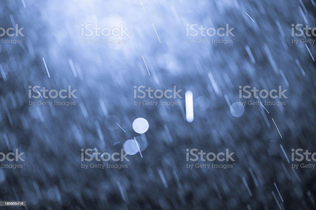 rain drops royalty-free stock photo