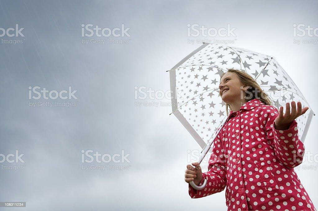 Rain royalty-free stock photo