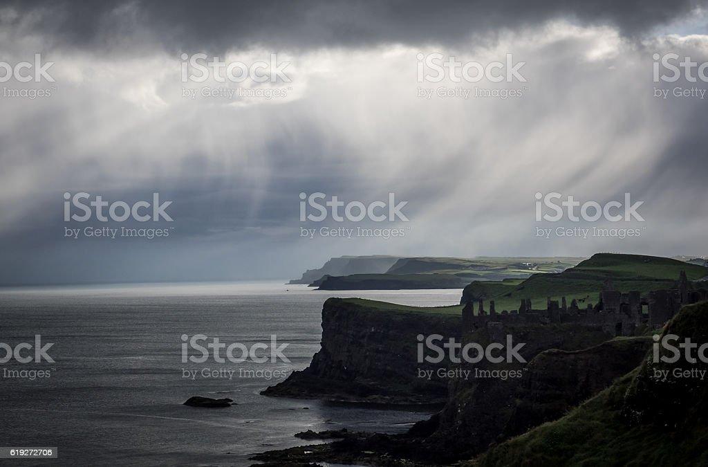 Rain stock photo