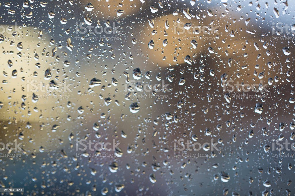 rain - Stock Image stock photo