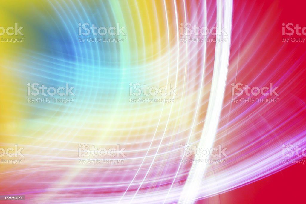 rainbow abstract background with white stripes royalty-free stock photo