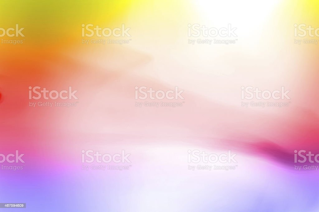 rainbow background with saturated colors stock photo