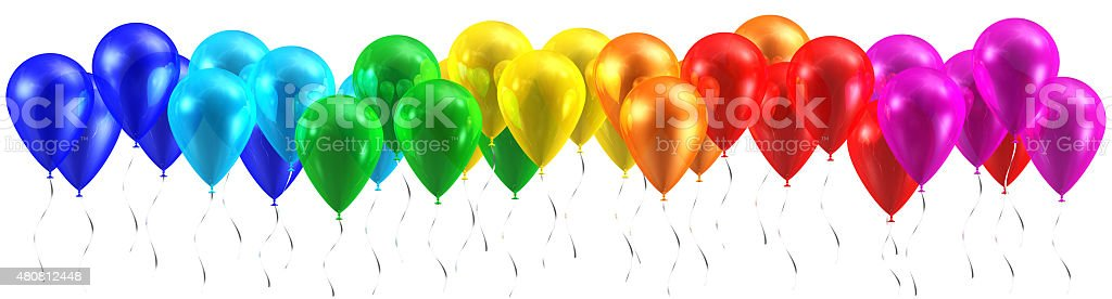 Image result for rainbow balloons