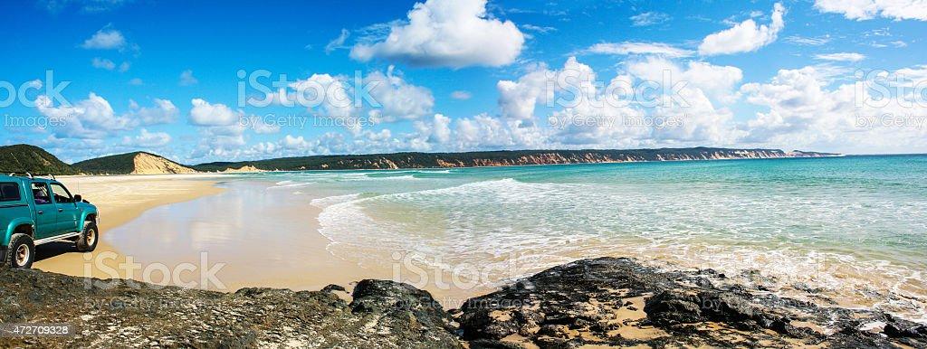 Rainbow Beach, Queensland, Australia. stock photo