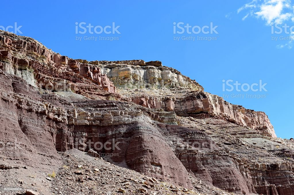 Rainbow Bluff stock photo