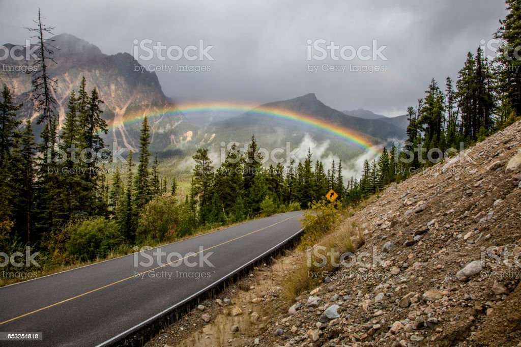 Rainbow Bridge stock photo