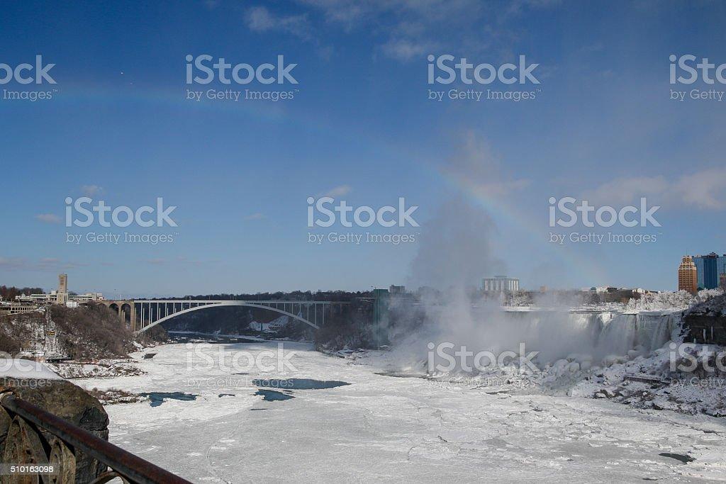 rainbow Canada stock photo