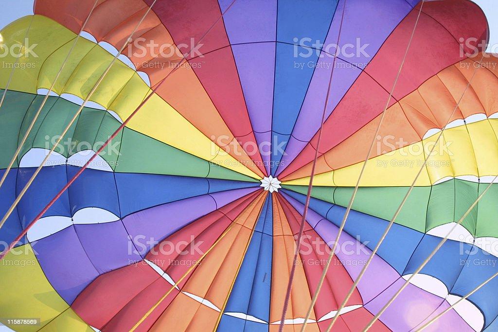 Rainbow Chute stock photo