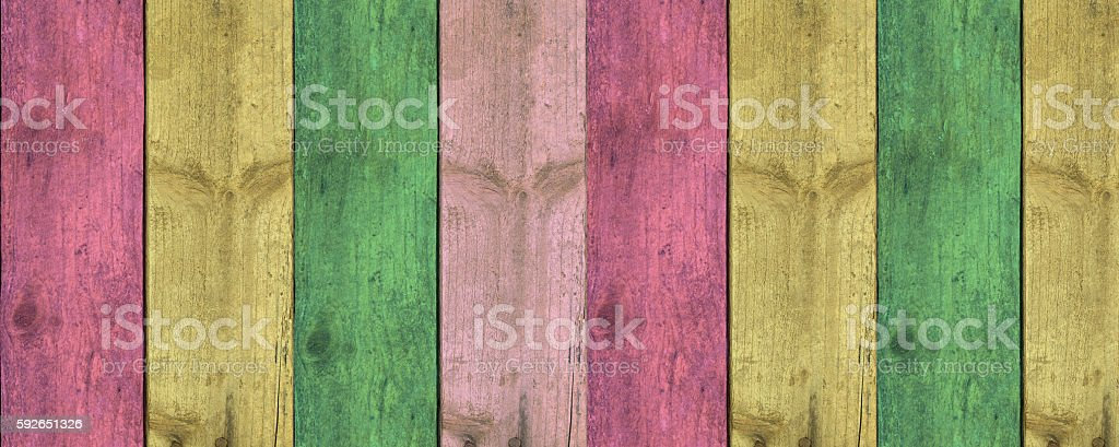 Rainbow color strips pattern, retro vintage style stock photo