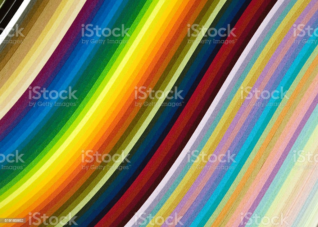 rainbow, colored paper, multicolor background stock photo