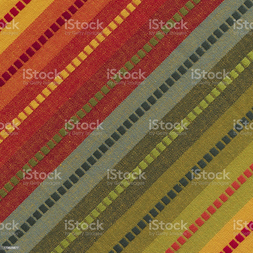 rainbow colored striped linen royalty-free stock photo