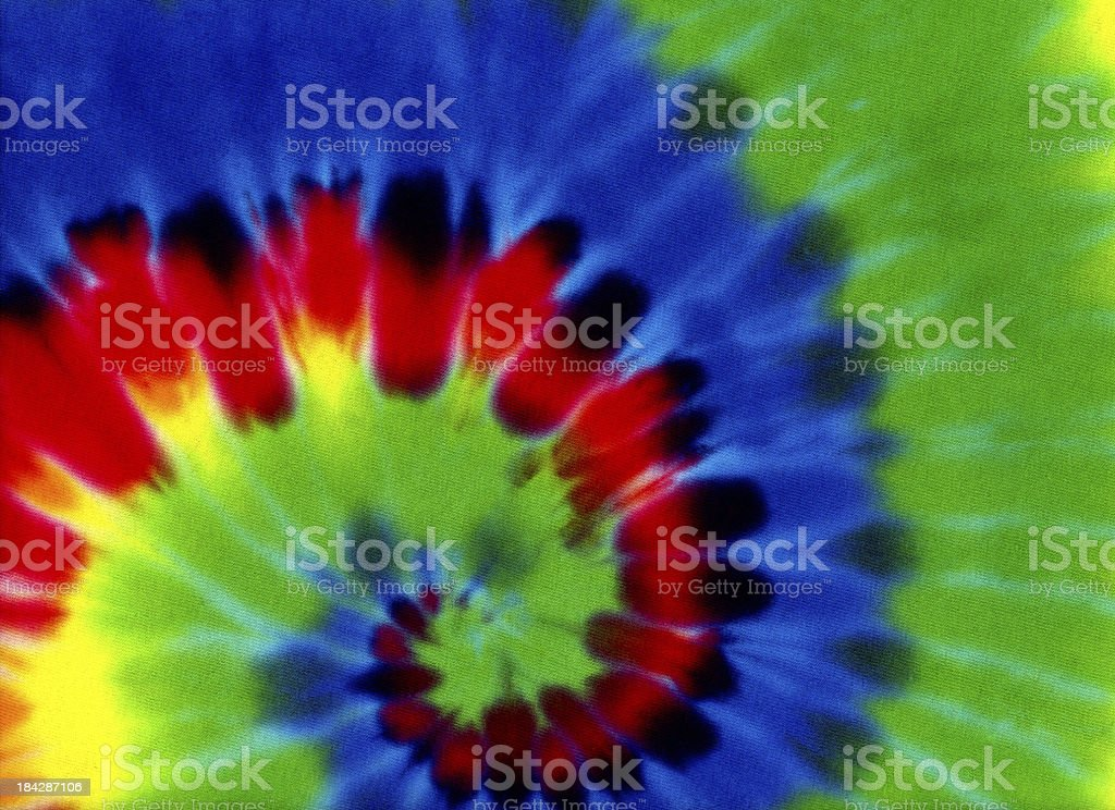 Rainbow Colored Tie Dye Background Pattern or Texture royalty-free stock photo