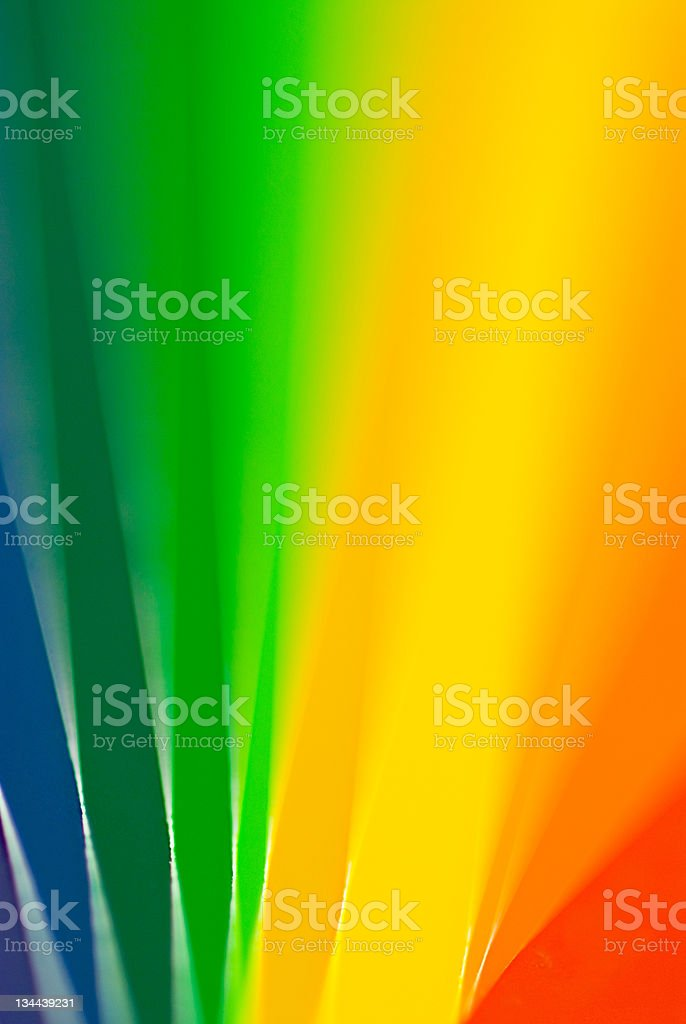Rainbow Colorful Paint Swatches royalty-free stock photo