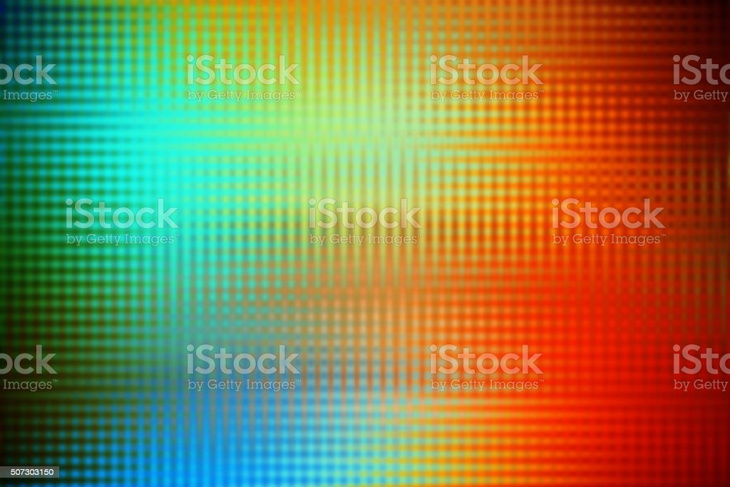 Rainbow Colors Abstract Background with Halftone Pattern vector art illustration