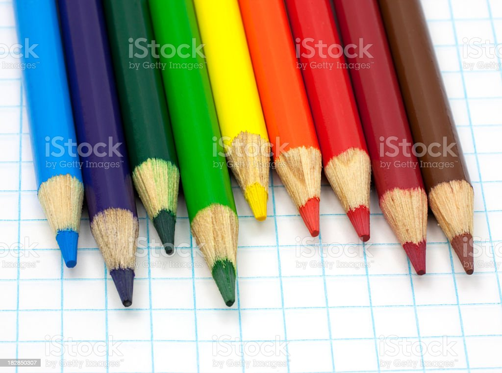 Rainbow colors royalty-free stock photo