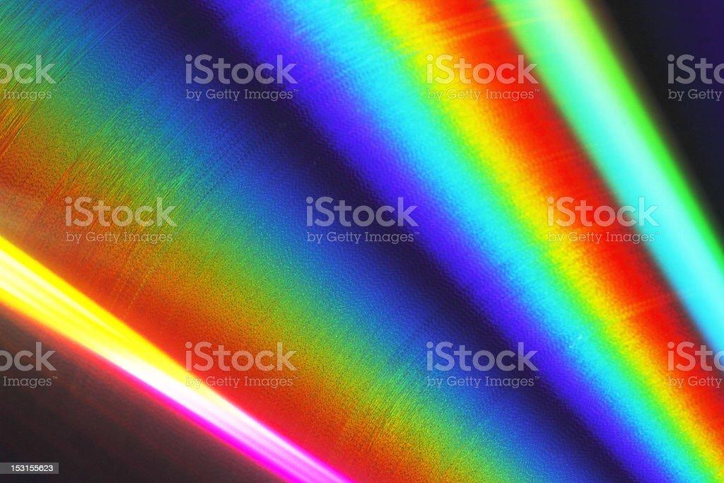 Rainbow disk stock photo