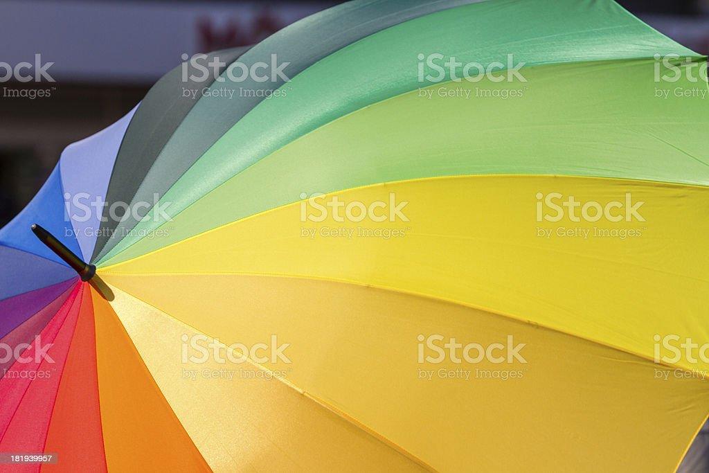 Rainbow for Tolerance stock photo