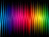 A rainbow frequency abstract background