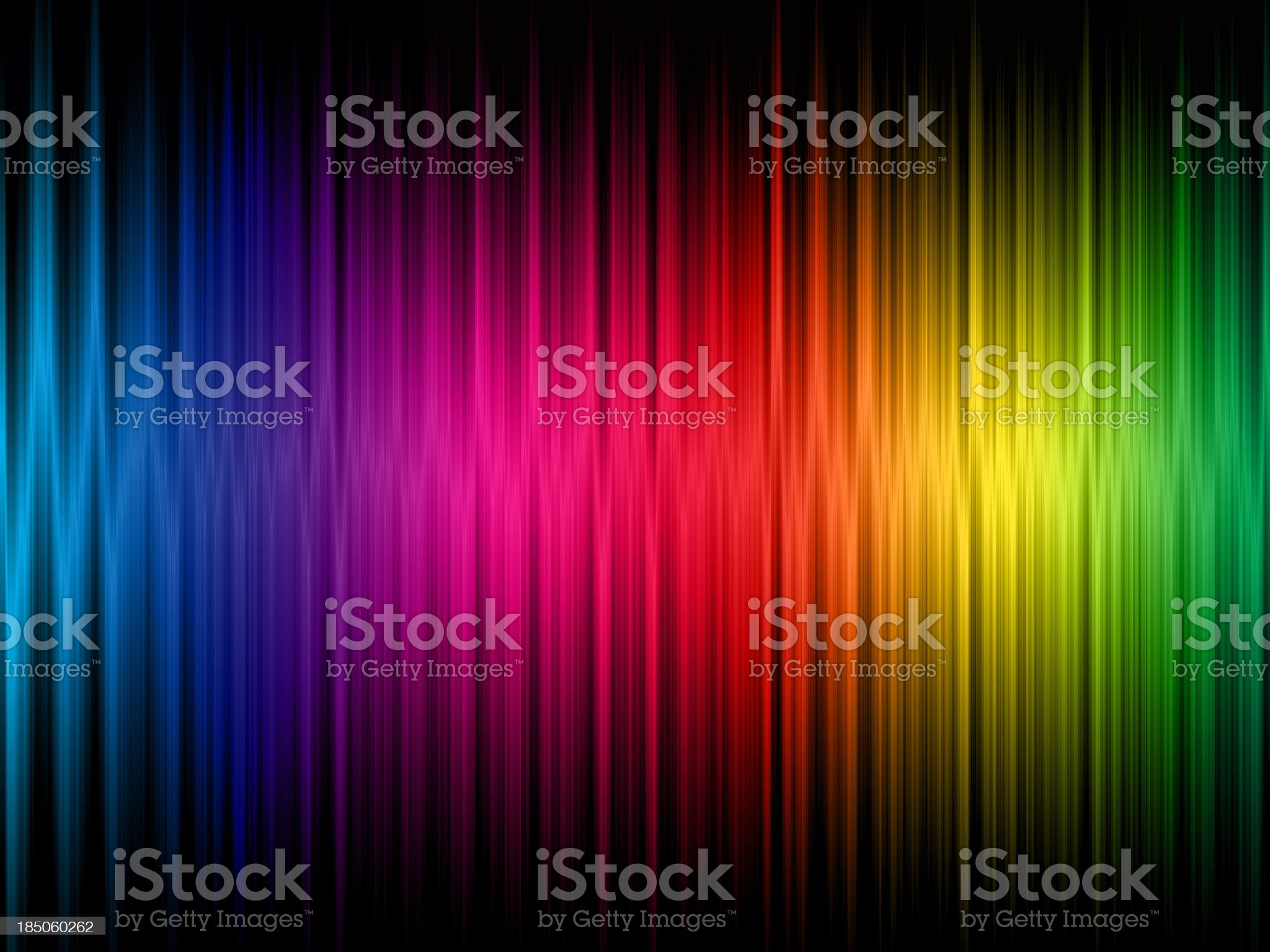 A rainbow frequency abstract background royalty-free stock photo