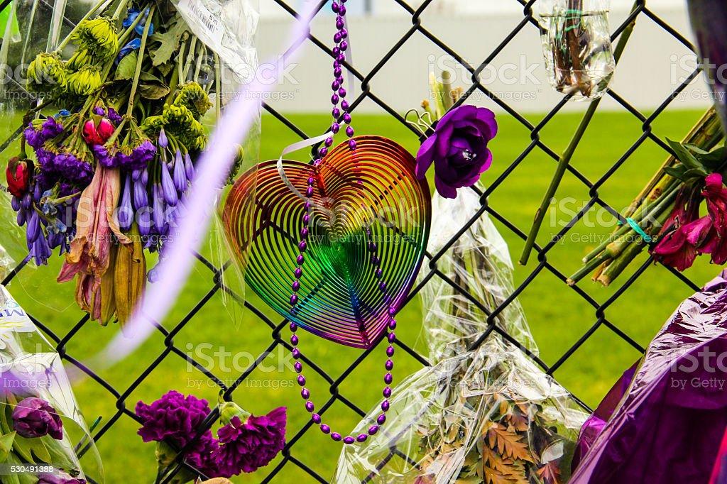 Rainbow Heart stock photo