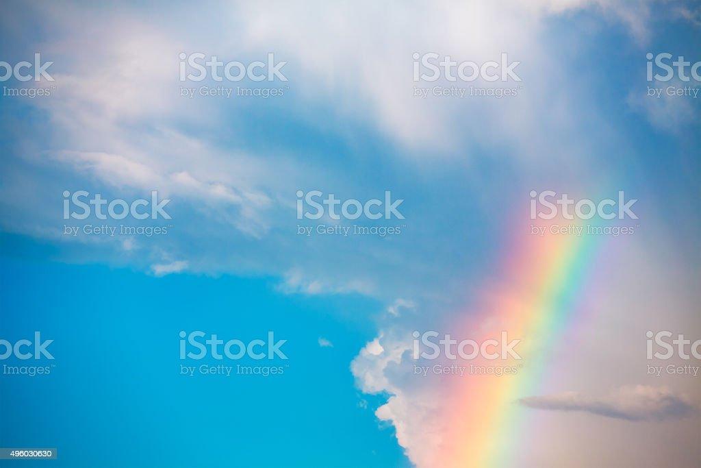 Rainbow In The Sky stock photo