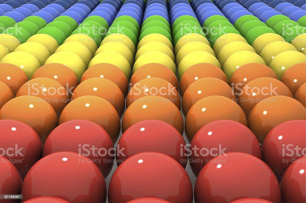 Rainbow lines stock photo