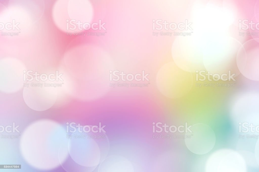 Rainbow multi colors abstract bokeh background. stock photo