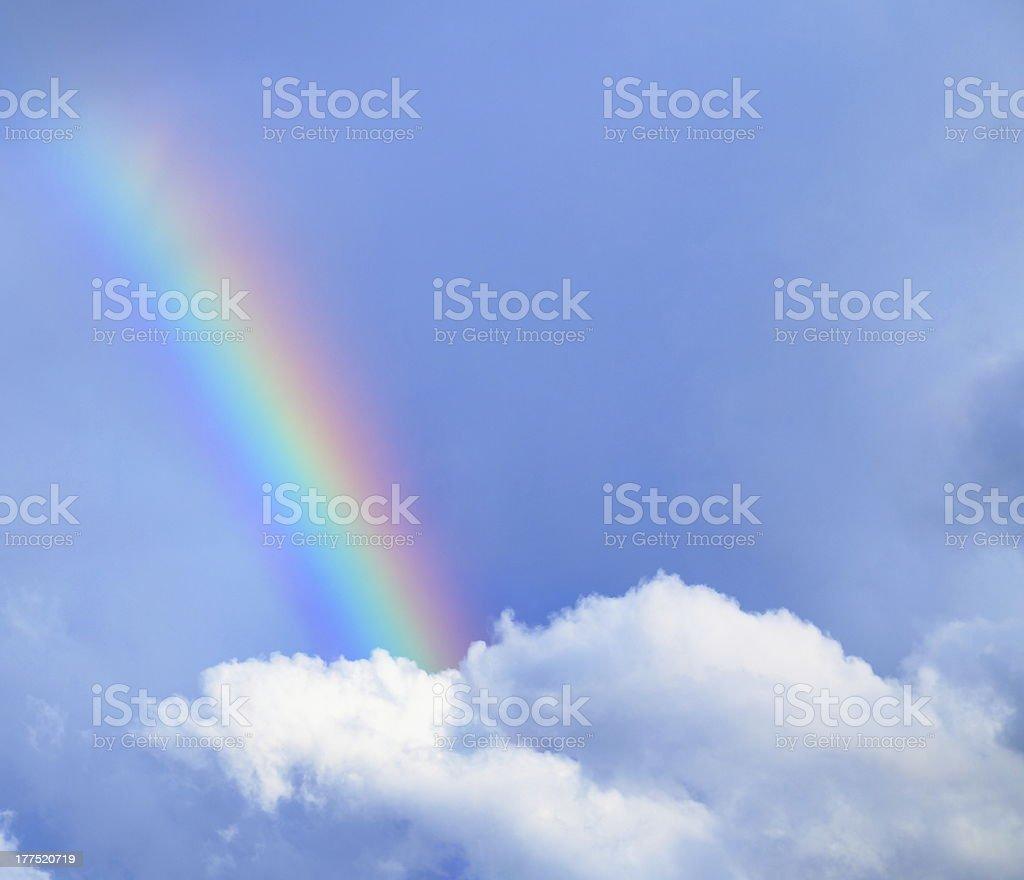 rainbow, natural phenomenon. stock photo