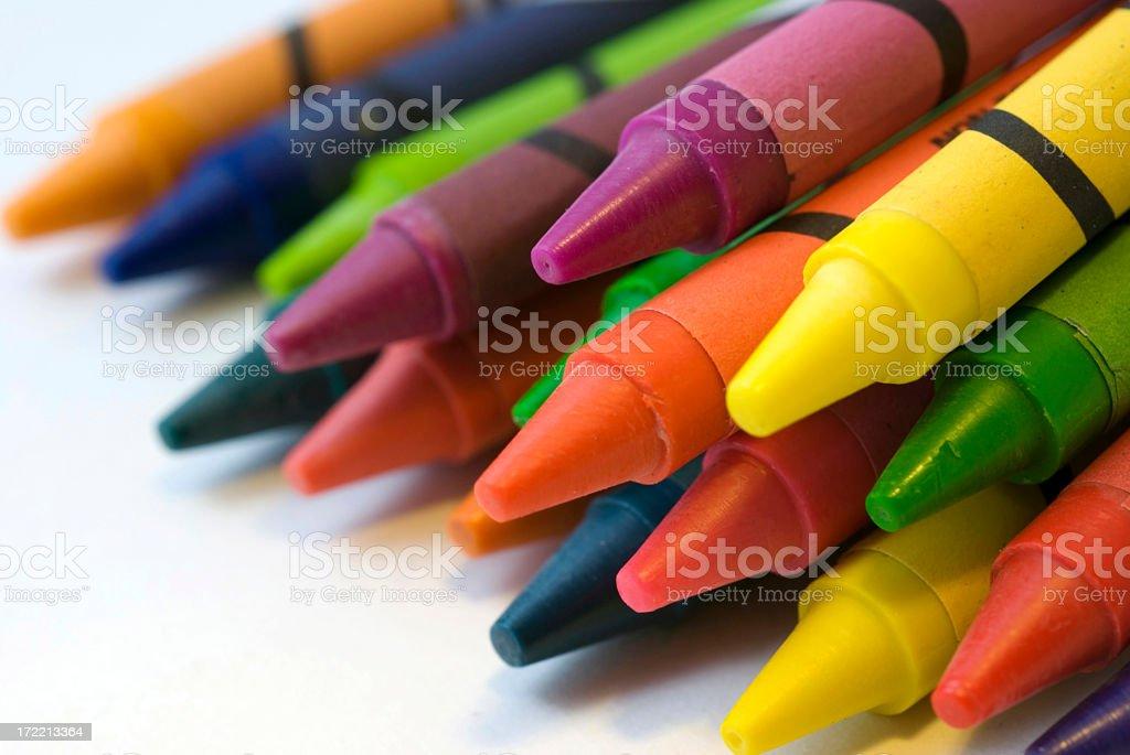 Rainbow of colors stock photo