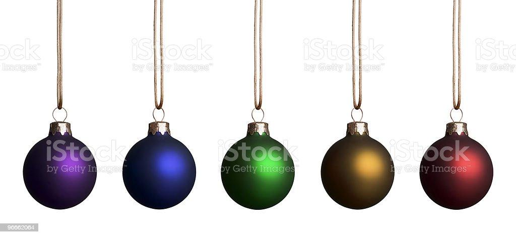 Rainbow Ornaments stock photo
