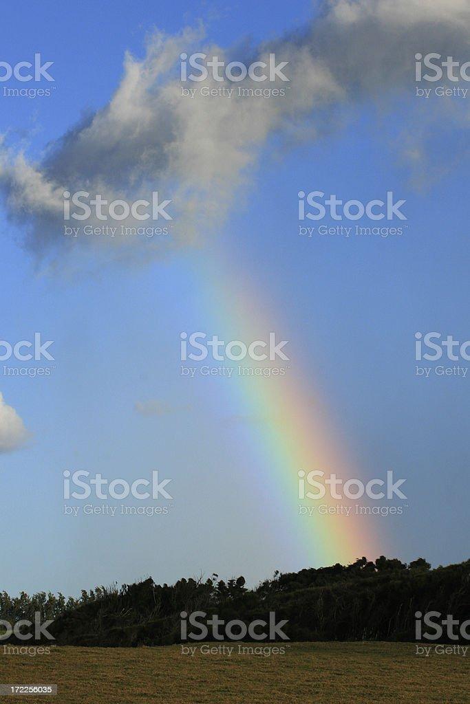 Rainbow over Maui royalty-free stock photo