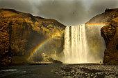 Rainbow over Skógafoss
