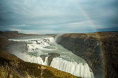 Rainbow Over The Gullfoss
