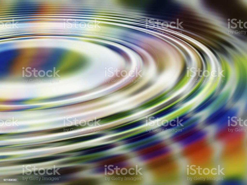 rainbow paint swirl royalty-free stock photo