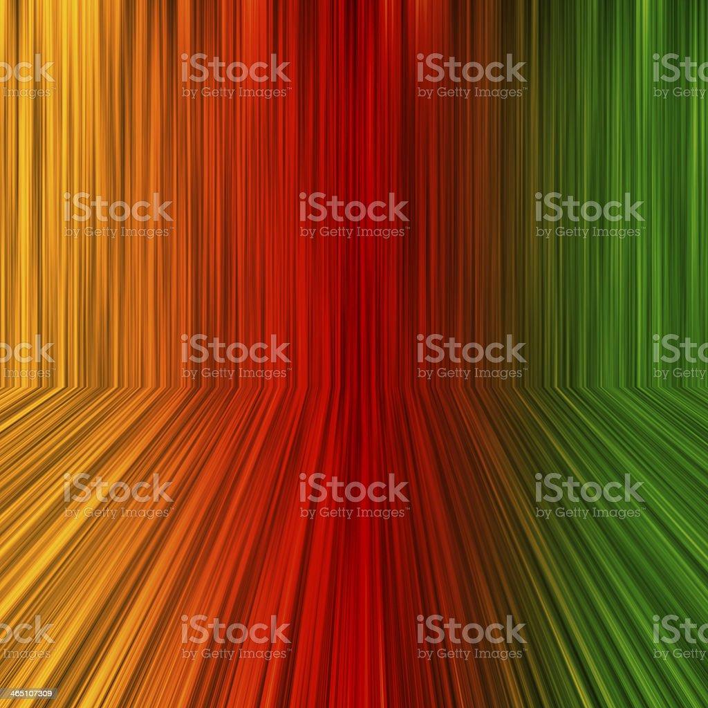 Rainbow perspective background stock photo