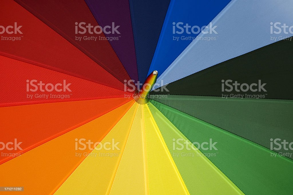 Rainbow royalty-free stock photo