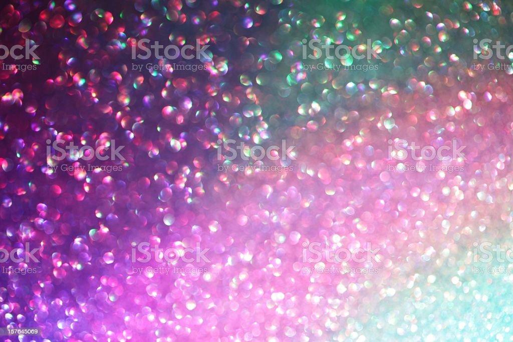 Rainbow shimmer stock photo