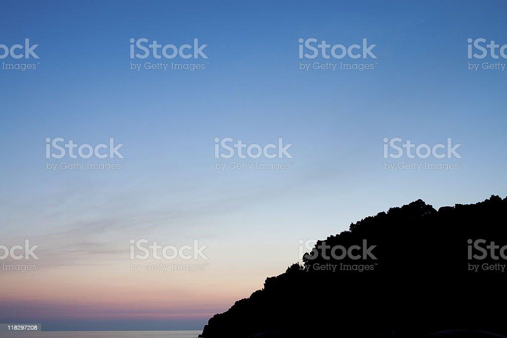 Rainbow sky stock photo