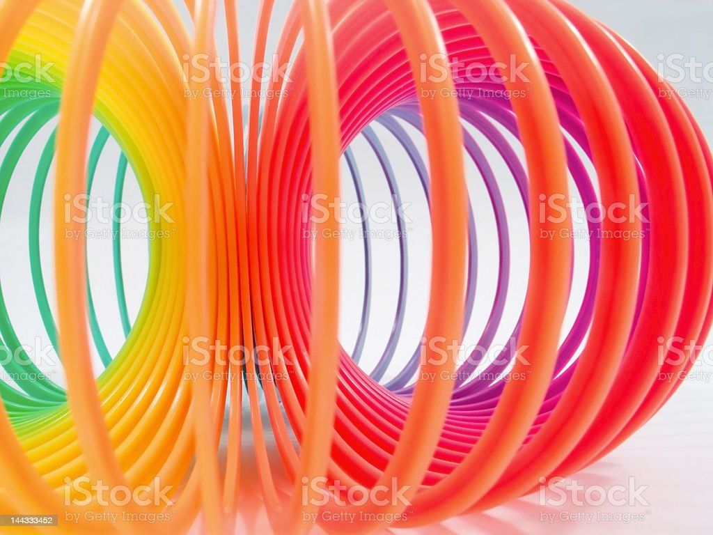 Rainbow spring royalty-free stock photo