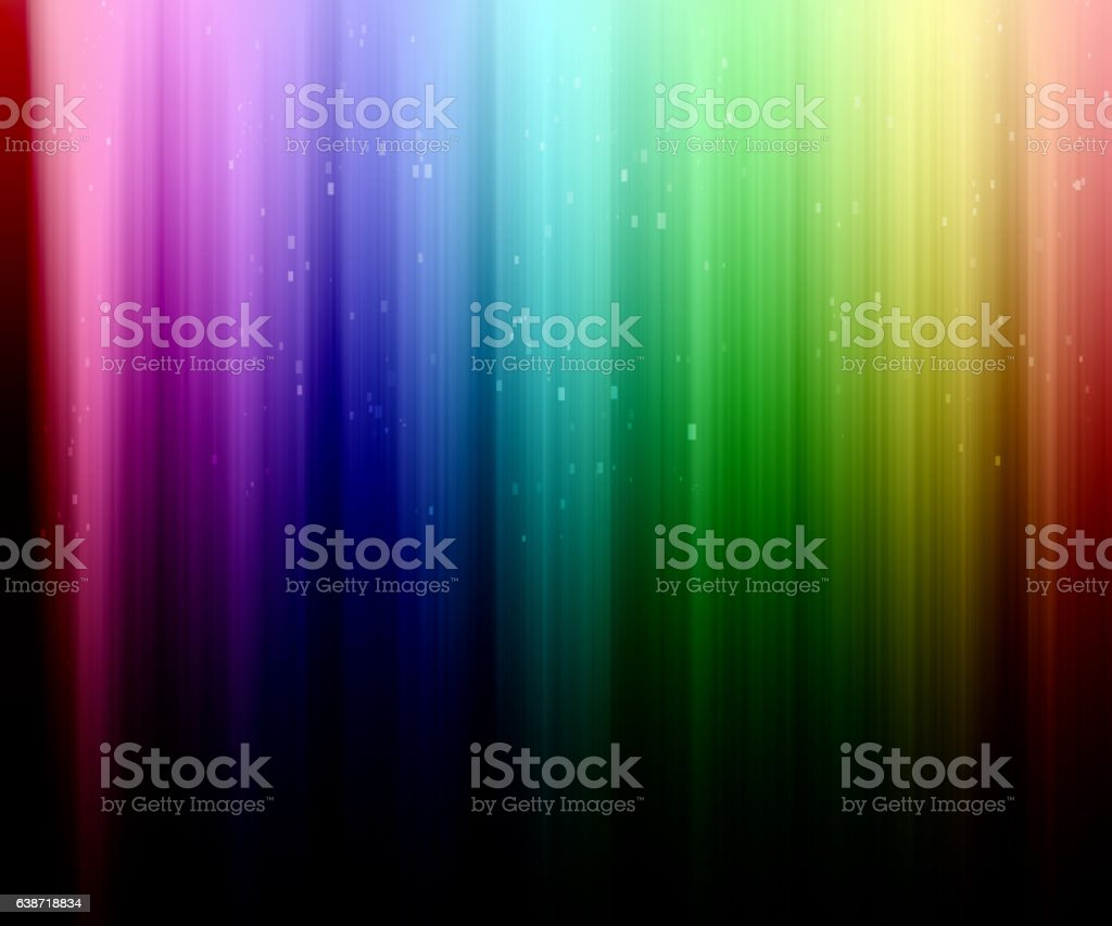 rainbow stripes vector art illustration
