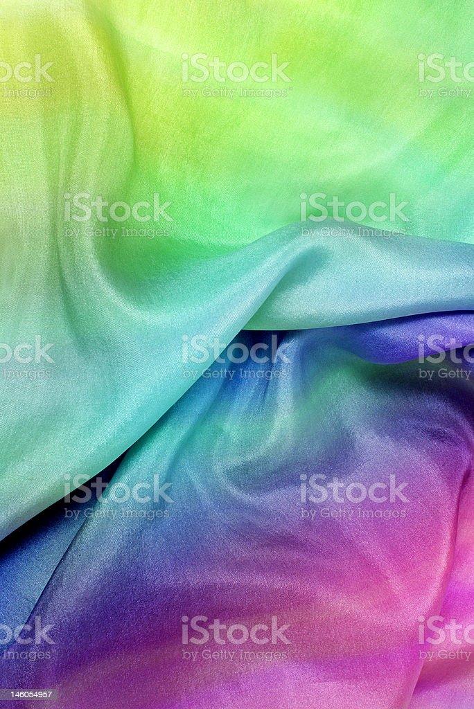 rainbow textile royalty-free stock photo