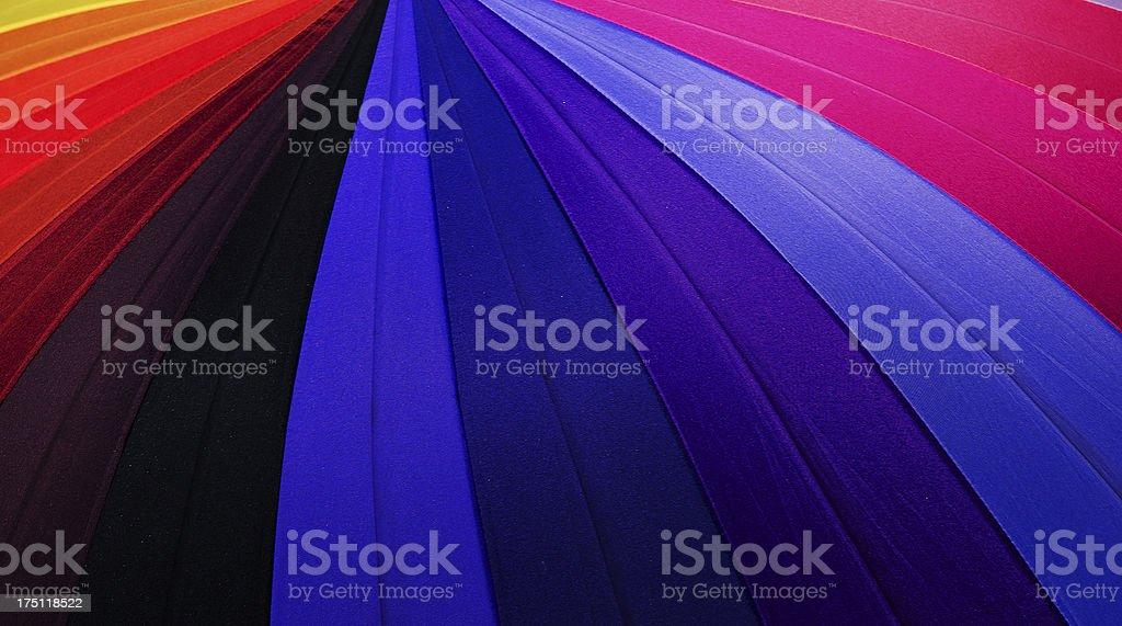 Rainbow umbrella royalty-free stock photo
