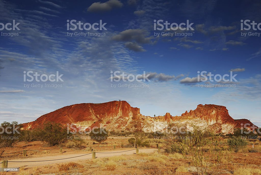 Rainbow Valley, Alice Springs Australia royalty-free stock photo