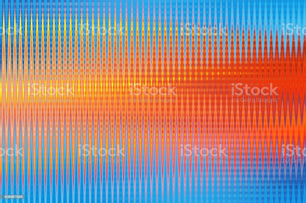 Rainbow Wave Abstract Background stock photo