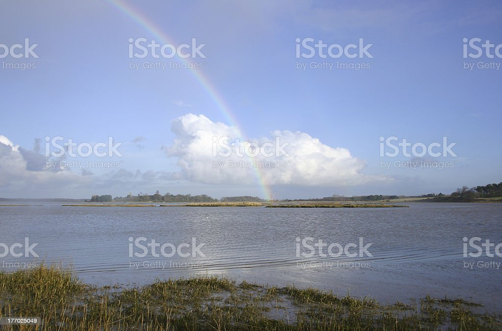 Rainbow's end royalty-free stock photo