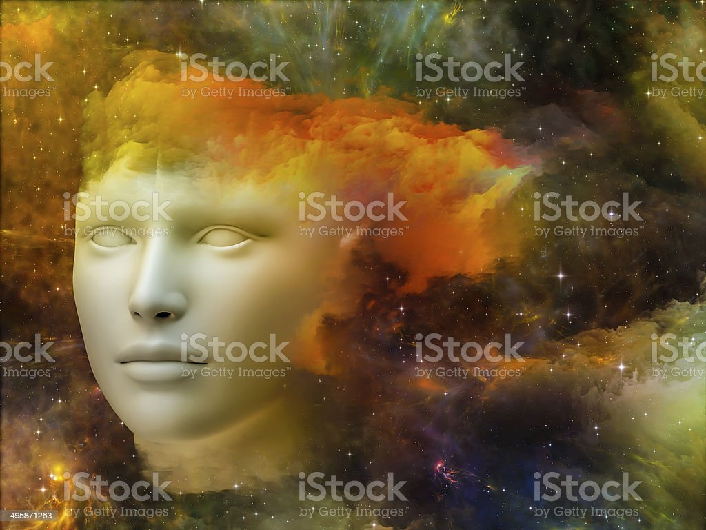Rainbows of the Mind royalty-free stock photo