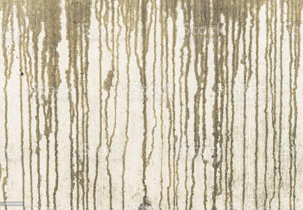 Raindrop pattern on concrete surface stock photo