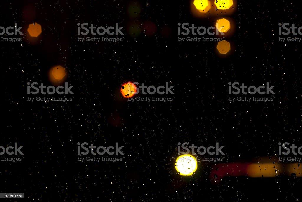 Raindrops foto de stock libre de derechos