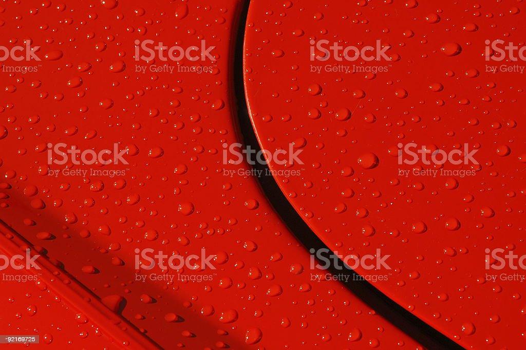 raindrops royalty-free stock photo