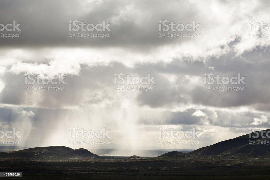 Rainfall stock photo